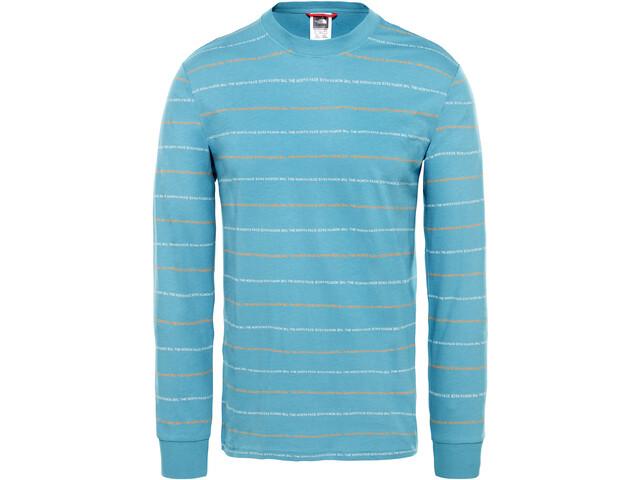 The North Face Stripes T-shirt à manches longues Homme, storm blue